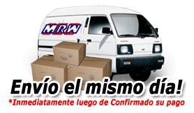 Envíos en 24 horas mediante MRW